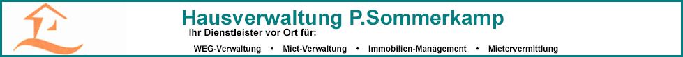 Hausverwaltung P. Sommerkamp
